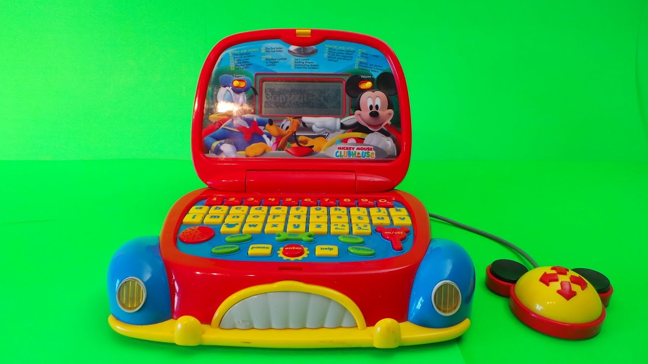 Mickey Mouse Laptop Review to help preschoolers learn English 2017