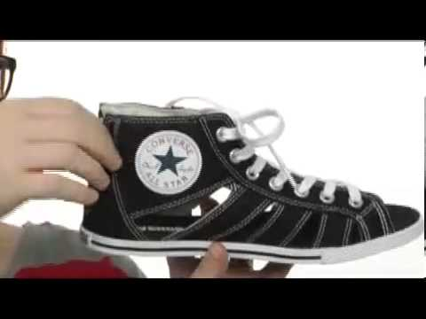 74d48a89c148 Converse Chuck Taylor® All Star® Gladiator Mid SKU  8078385 - YouTube
