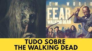 The Walking Dead  9 temporada ep 9 Sussurradores e Novidades Fear TWD | Geek in Box