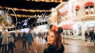 DISNEYLAND PARIS VLOG PART ONE | Hello October Vlogtober