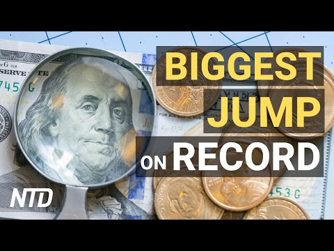 Producer Prices See Biggest Jump on Record; Expert: Investment Funds Rethinking China | NTD Business