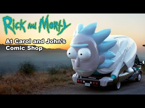 Rick and Morty Don't Even Trip Road Trip in Cleveland