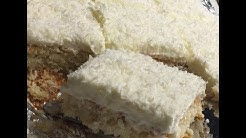 Coconut Cake- juicy low carb coconut cake