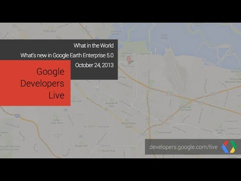 What In The World: What's new in Google Earth Enterprise 5.0