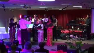 KJRI Toronto ICCC (Acara#3) Choir 01-17-2015