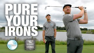 How To Hit Your IRONS PURE | Me And My Golf