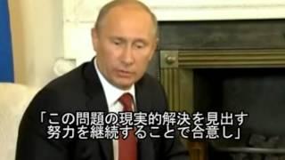 2012/8/3 シリア問題 プーチン大統領が英首相と柔道観戦