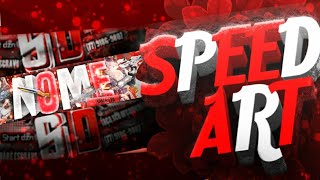 BANNER EDITÁVEL SPEED ART BANNER PS TOUCH ANDROID