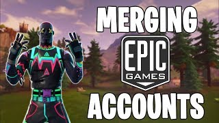 MERGING EPIC GAMES ACCOUNTS - COMING SOON | Linking PSN & Xbox Fortnite Accounts!