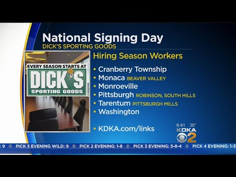 Dick's Sporting Goods Hiring For Holiday Season