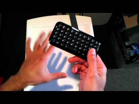 Review of the mini BlueTooth keyboard as purchased off of eBay for $10 from China