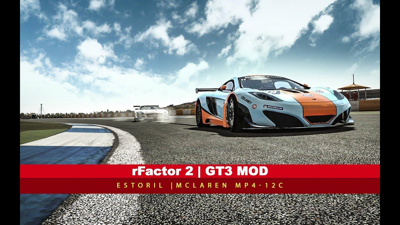 rFactor 2 | GT3 Mod - Estoril - Full Race
