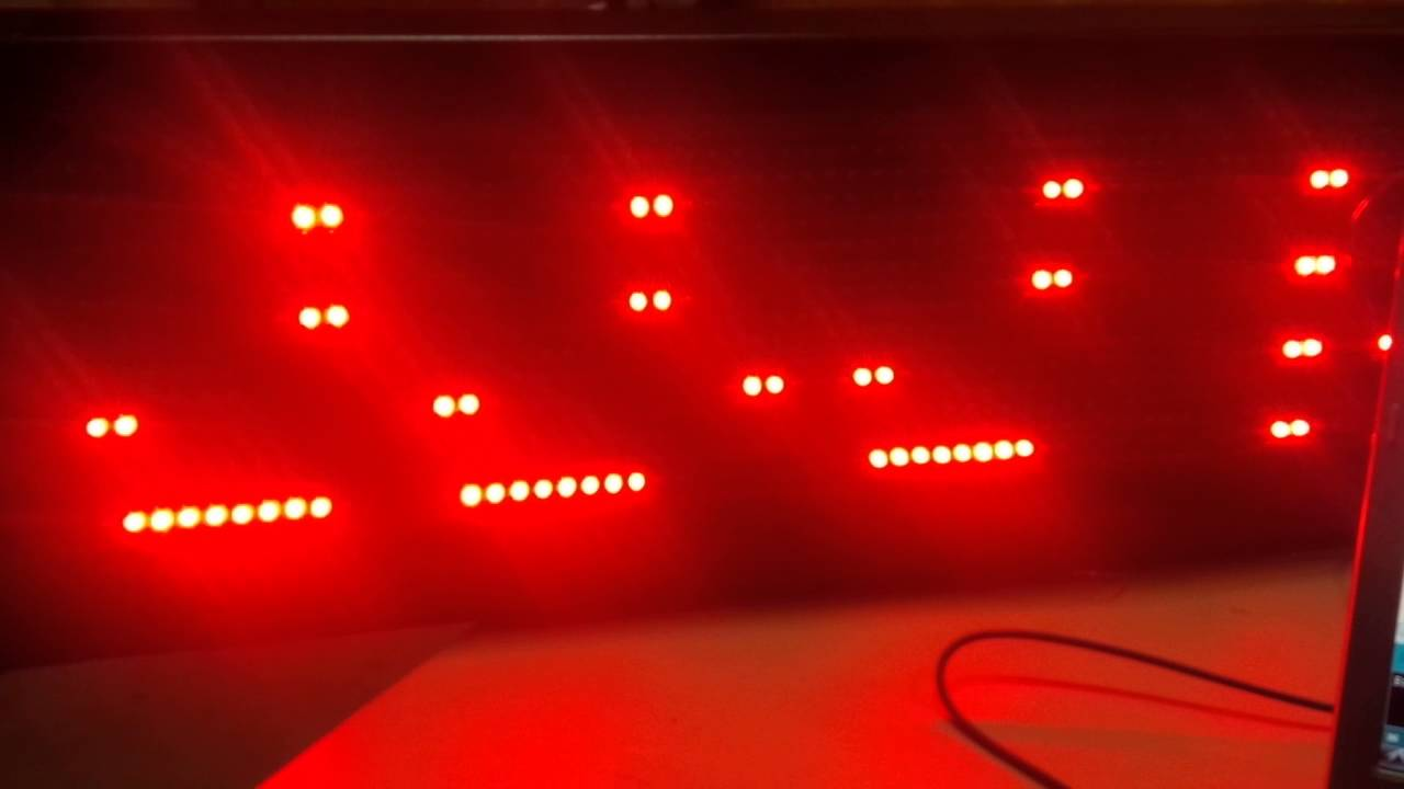 Arduino DMD Library set to 1Hz Refresh interval