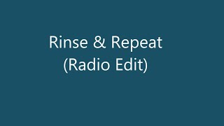 Riton   Rinse & Repeat Ft  Kah Lo Original Mix (Lyrics / Şarkı Sözleri) # HD 1080P