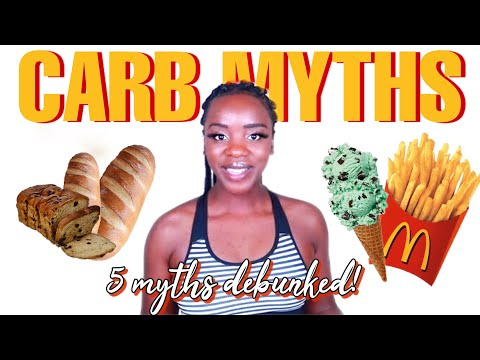5 MYTHS ABOUT CARBS YOU PROBABLY FELL FOR!