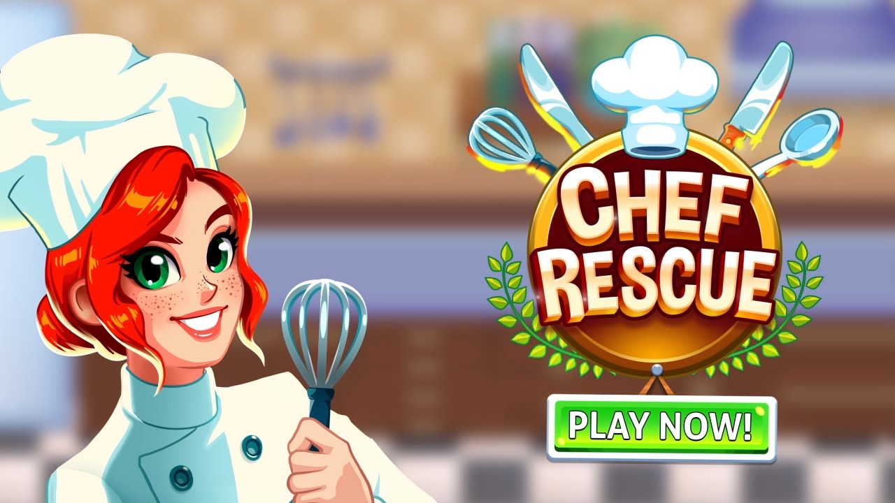 Chef Rescue - Restaurant Management Game for iPhone and Android