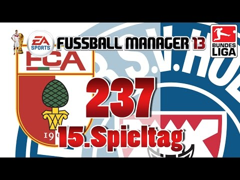 Fussball manager lets play 237 15 spieltag  fc augsburg fm lp 2014 karriere