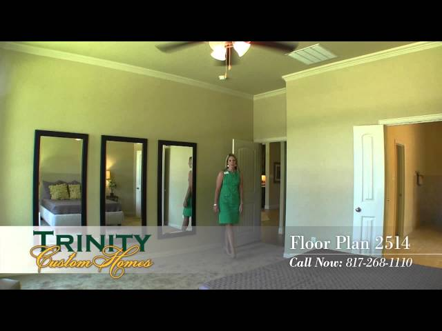 Trinity Custom Homes 2514 Floor Plan