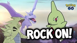 ROCK EVENT = TYRANITAR?! & 4X FASTER CANDY! ★ POKEMON GO NEW EVENT!