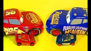 Тачки 3 Молния Маквин Трансформер Мультики про Машинки Cars 3 Lightning McQueen