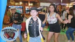 Bailando La Cumbiambera de Los Lumaquinos Alegres con Ninoska - Roxana y Los Huasos Fachinys