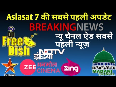 Express AM 22 80°E latest update and channal list and dish stating