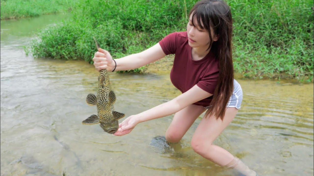 素手で獲れる「奇妙な外来魚」食べてみた。