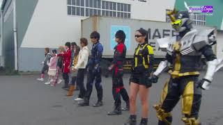 Go-Busters vs Gokaiger Henshin (Sub Indo)