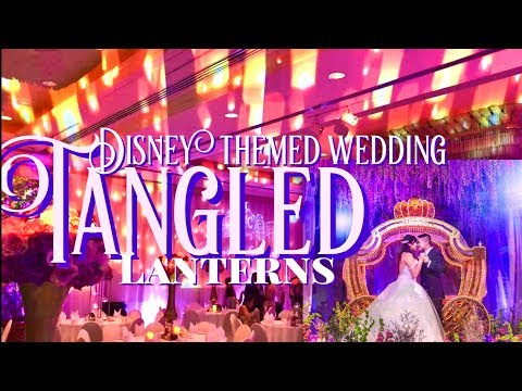 disney-themed-wedding---tangled-lanterns-wedding-inspiration