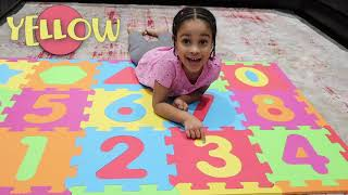 Learn Numbers and Colors With Cali!