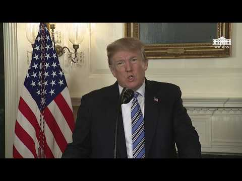 President Trump Delivers Remarks on the Tragedy in Parkland, FL