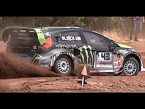 Ken Block Interview X Games Monster Ford Fiesta Rally
