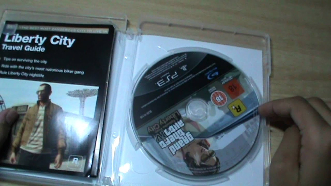 Edition For Ps3 Grand Theft Auto Iv Complete Edition Ps3 Unboxing