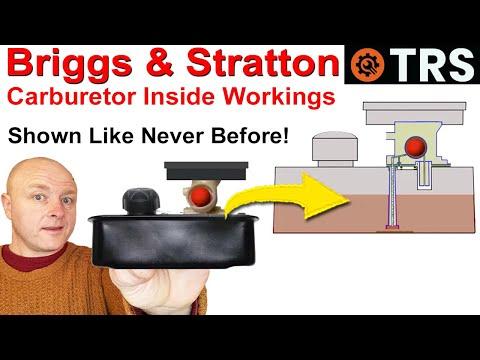 Briggs And Stratton Carburetor (How It Works) - 'Unique View'