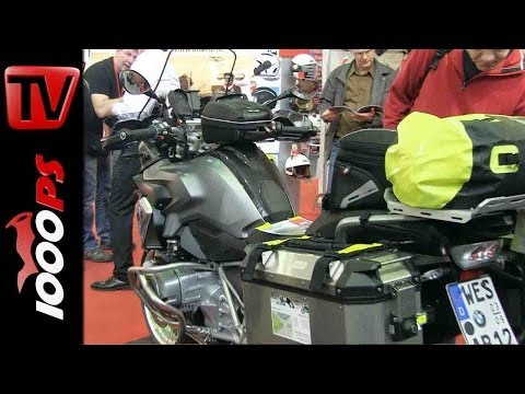 Produktvorstellung | BMW R 1200 GS Givi Zubehör Handguard, Smartbar, Koffer