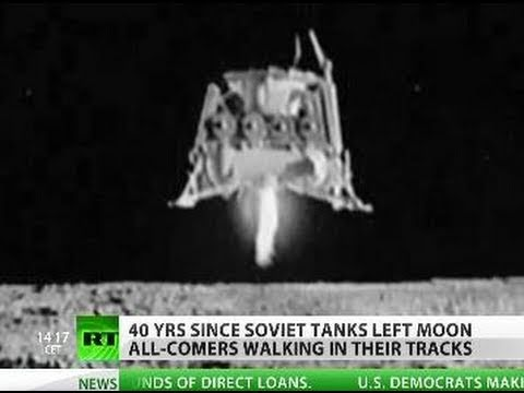 Soviets on the Moon: Secrets of 'Lunar Tanks'