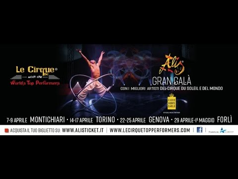 Alis - Le Cirque with the World's Top Performers: Meet the Cast & Crew