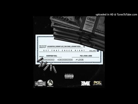 LilCadiPGE  Get That Check Right Feat DonnyLoc, DaiDMB & Johnny Rose Prod  Hollywood