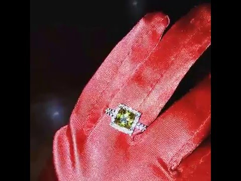 серебренное кольцо с желтым цирконом) продажа)