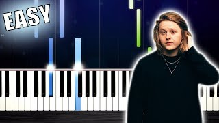 Lewis Capaldi - Someone You Loved - EASY Piano Tutorial by PlutaX