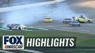 Cody Ware takes out Tyler Reddick and others heading into pit row at Daytona 500 | 2019 DAYTONA 500