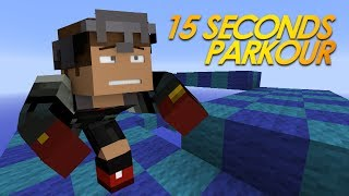 Minecraft: 15 SECONDS! Parkour Speed Map by Sethbling