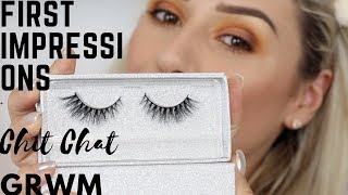 CHIT CHAT FIRST IMPRESSIONS GRWM & 45K+ SURPRISE || GIO DREVELI ||