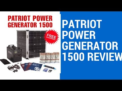 Patriot Power Generator 1500 Review | Best Portable Solar Generator