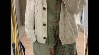 [흰돌,빈티지하다] 짱예뿐 빈티지 옷 코디 ❣️