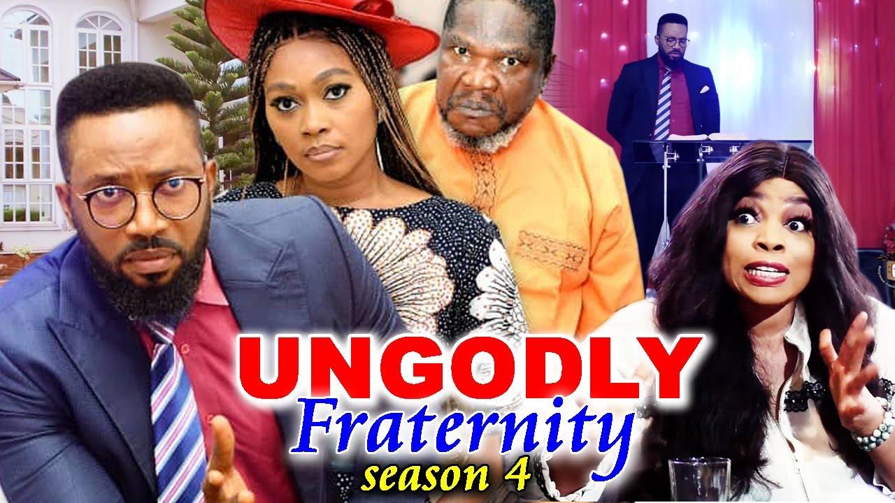 Download UNGODLY FRATERNITY SEASON 4-(Trending New Movie)Fredrick Leonard 2021 Latest Nigerian  Movie Full HD