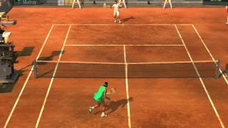 Virtua Tennis 2009  Game Play