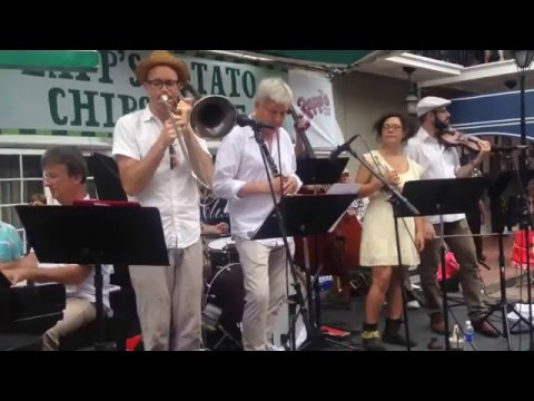 Orange Kellin`s New Orleans Deluxe Orchestra (USA) Why French Quarter Festival April 2015
