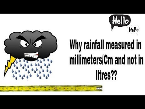 why-rainfall-measured-in-millimeters/centimeters-and-not-in-litres??