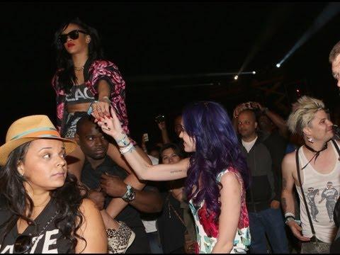 Rihanna and Katy Perry Coachella Party